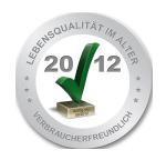 Logo Lebensqualität im Alter 2012
